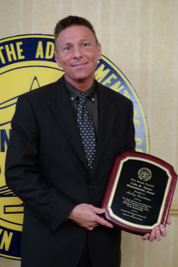 Michael Burnett, Hurley Foundation, Celia M. Turner Humanitarian Award